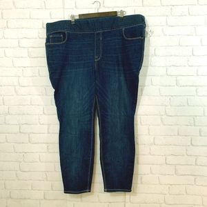 Old Navy rockstar skinny high rise 26 SHORT jeans!